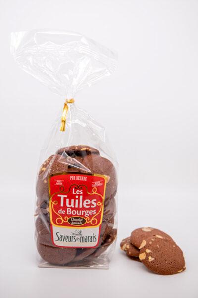 sachet tuiles chocolat amande