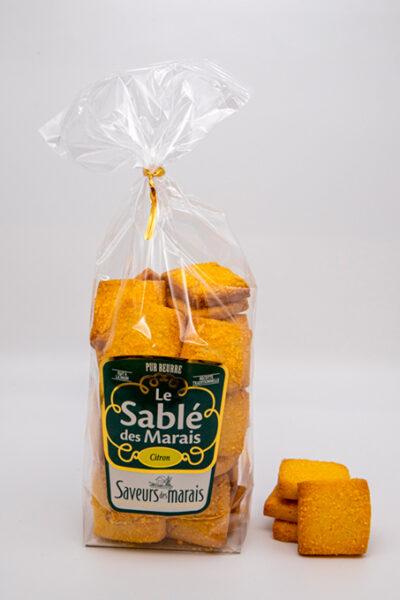 sachet de sablés au citron
