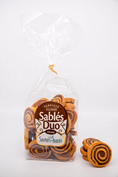 sachet de sablé duo chocolat