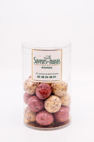 Perles de fraise