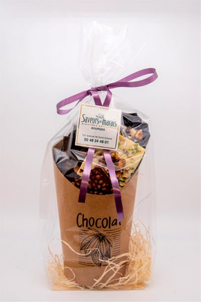 Assortiment carré chocolat
