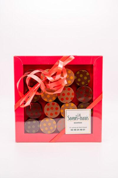 Assortiment boîte de chocolats
