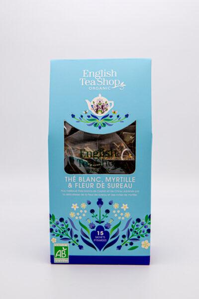 English Tea Shop –  thé blanc, myrtille et fleur de sureau