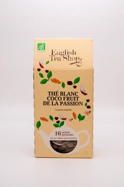 English Tea Shop –  thé blanc coco fruit de la passion