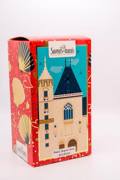 packaging vue de trois quart palais
